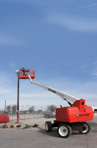 Snorkel Telescopic Boom Lift